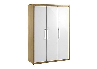 White wardrobes white slider mirrored furniture village for Furniture village wardrobes