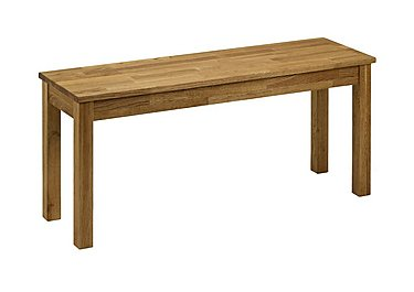 Larwood Oak Bench in  on Furniture Village