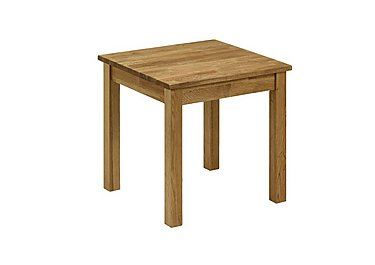 Larwood Oak Lamp Table in  on Furniture Village