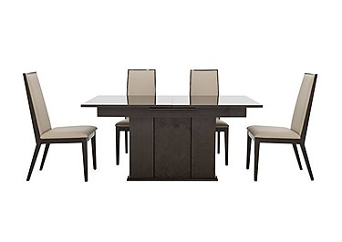 Lorenzo Extending Table and 4 Chairs in  on Furniture Village