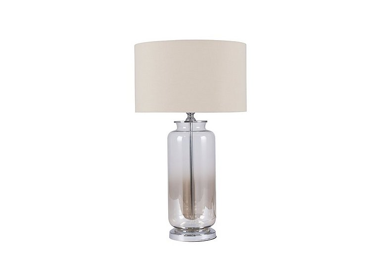 Lustre Ombre Glass Table Lamp in  on Furniture Village