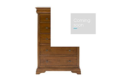 Louis Philippe 6 Drawer Tall Chest in  on Furniture Village