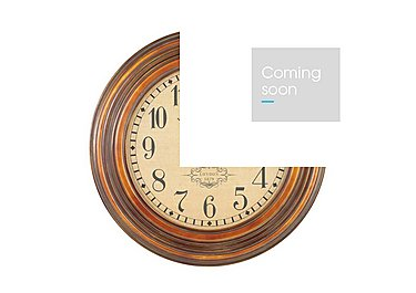 Max Wall Clock in  on Furniture Village