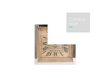 Mango Square Wall Clock in  on Furniture Village