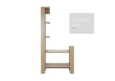 Maze Oak Shelving Unit in  on Furniture Village
