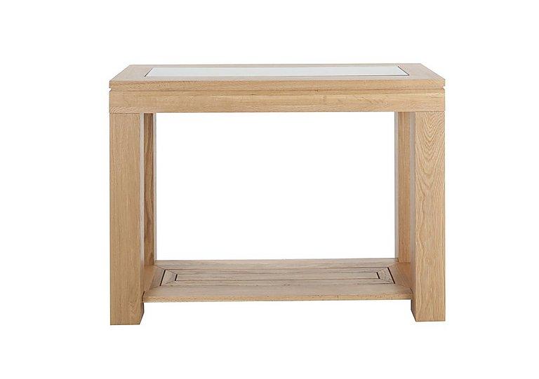 Maze Oak Console Table in  on Furniture Village