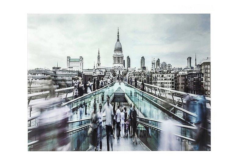 Millennium Bridge Glass Picture in  on Furniture Village