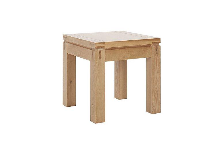 Modena Oak Lamp Table in  on Furniture Village