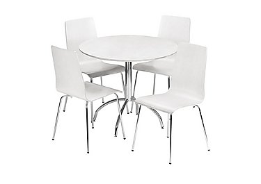 Milo Table and 4 Chairs in  on Furniture Village