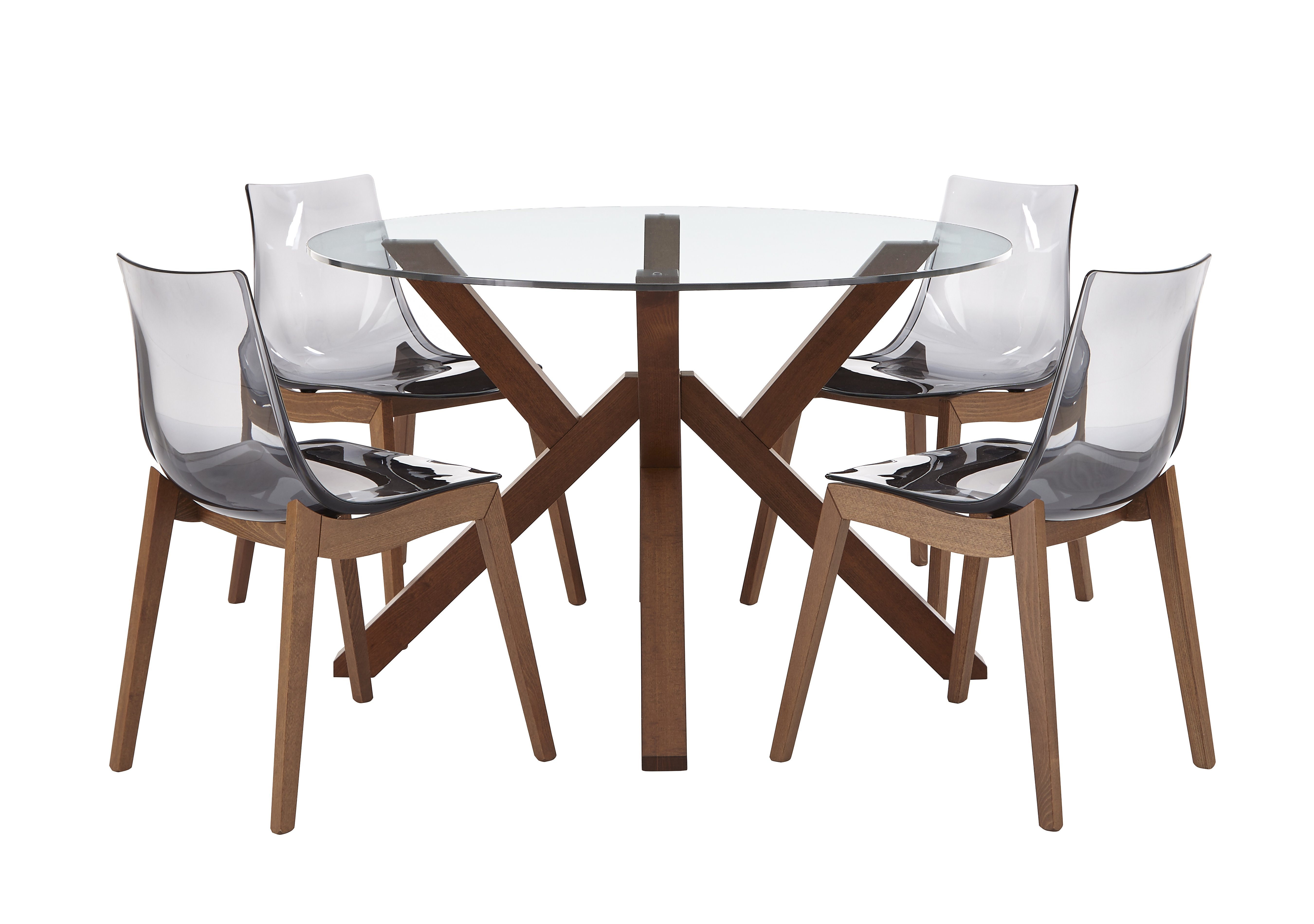 Mikado Dining Table and 4 Chairs Calligaris Furniture Village