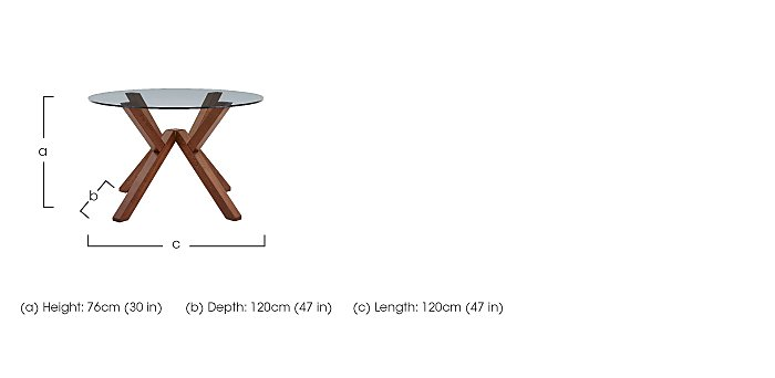 Mikado Dining Table in  on Furniture Village
