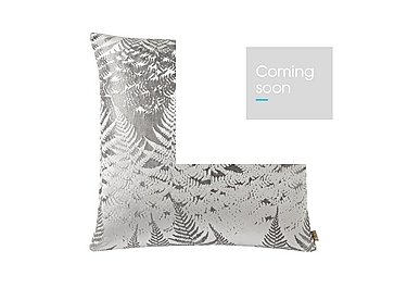 Miu Silver Cushion in  on Furniture Village