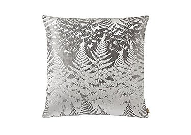 Miu Silver Cushion in  on Furniture Village