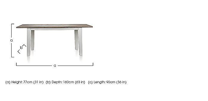 Mallorca Dining Table in  on Furniture Village