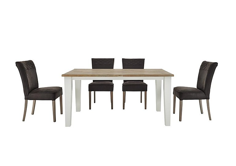 Mallorca Table and 4 Chairs in  on Furniture Village