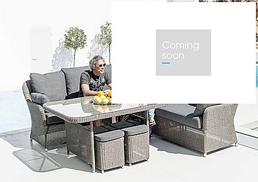 Monte Carlo Corner Dining Set in  on Furniture Village