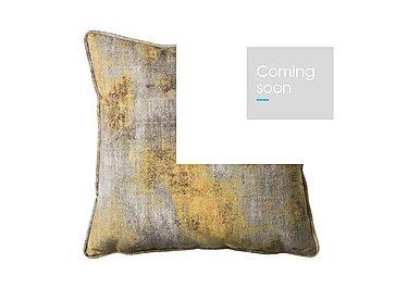Mood Ochre Cushion in  on Furniture Village