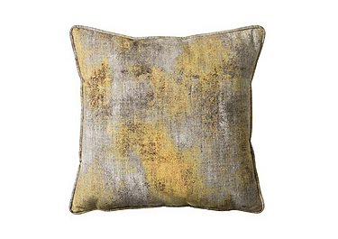 Mood Ochre Cushion in  on Furniture Village