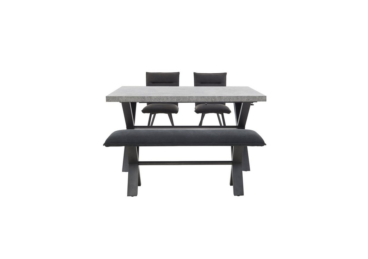 Moon Small Dining Table 2 Chairs And Small Bench Furniture Village