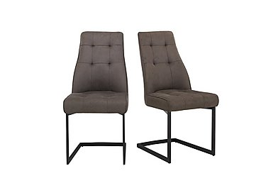 Merlin Pair of Dining Chairs in  on Furniture Village