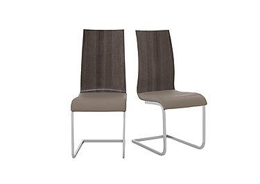 Messina Pair of Dining Chairs in  on Furniture Village