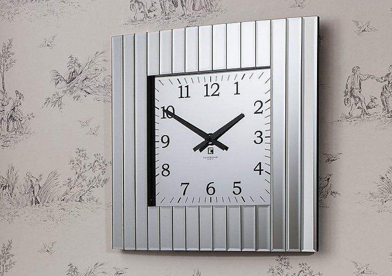 Metropolis Wall Clock in  on Furniture Village