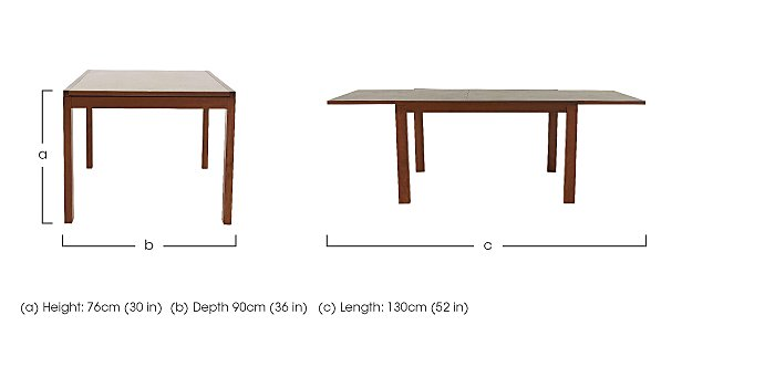 Smart Extending Dining Table in  on Furniture Village