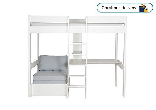 Fabulous Nexus High Sleeper With Desk And Chair Bed Theyellowbook Wood Chair Design Ideas Theyellowbookinfo