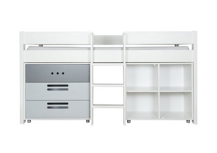 pretty nice 94b6d 778b4 Nexus Mid-Sleeper with Storage Cube and 3 Drawer Chest