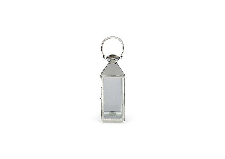 Nickel Chelsea Lantern Small in  on Furniture Village