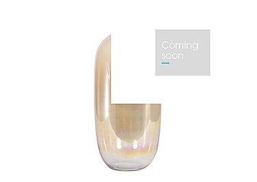 Natural Lustre Vase Tall in  on Furniture Village
