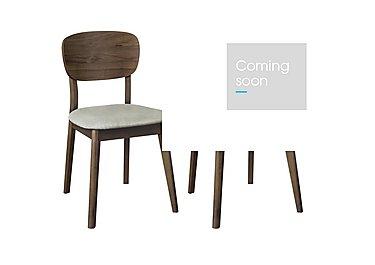 Nexus Pair of Veneered Back Chairs in  on Furniture Village