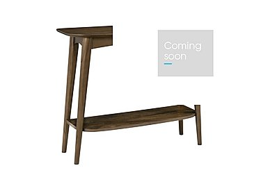 Nexus Console Table With Shelf in  on Furniture Village
