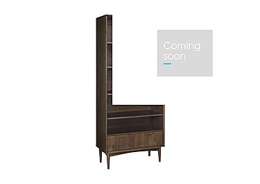 Nexus Wide Bookcase in  on Furniture Village