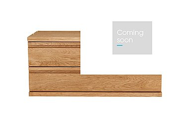 Orbit 2 Drawer Wide Base Unit in  on Furniture Village