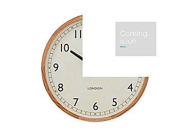 Oak Framed Clock in  on Furniture Village