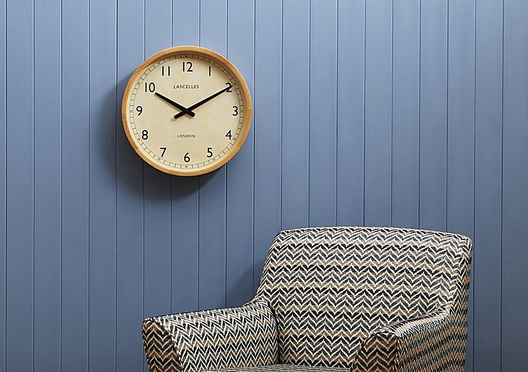 Oak Frame Clock
