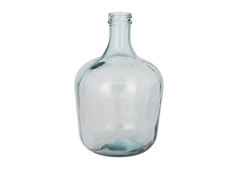 Onion Bottle Clear Vase in  on Furniture Village