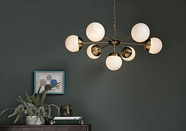 Orson 7 Light Pendant in  on Furniture Village