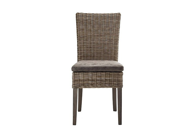 Oslo Rattan Dining Chair in  on Furniture Village