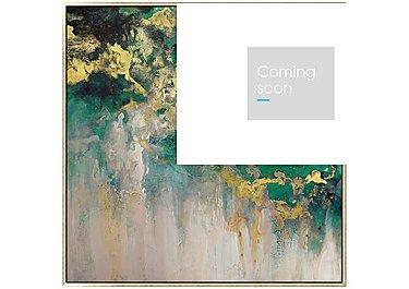Oxidised Framed Canvas in  on Furniture Village