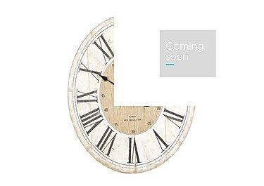 Parisienne Wall Clock in  on Furniture Village