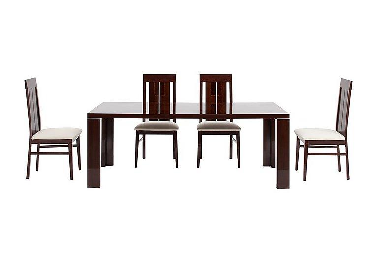 Palermo Extending Table and 4 Chairs in  on Furniture Village