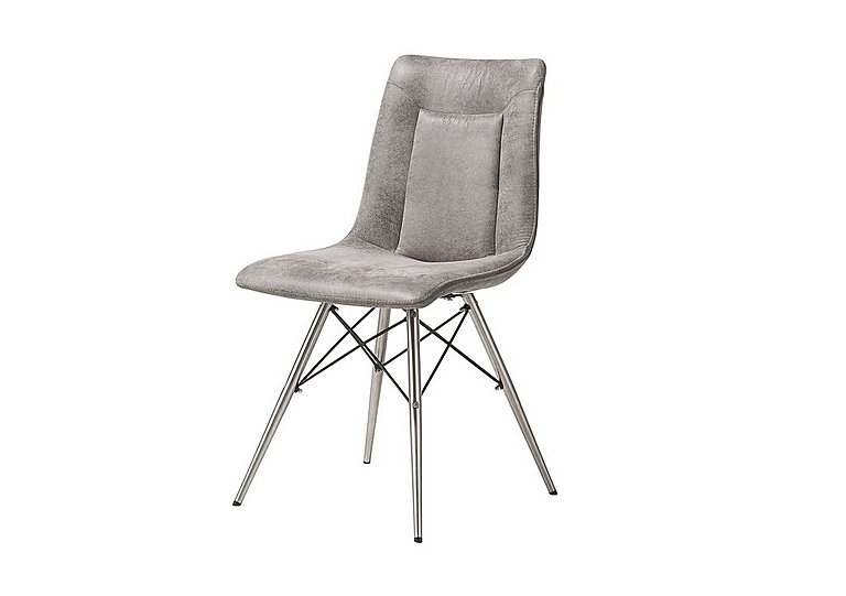 Panay Design Leg Dining Chair Grey in  on Furniture Village