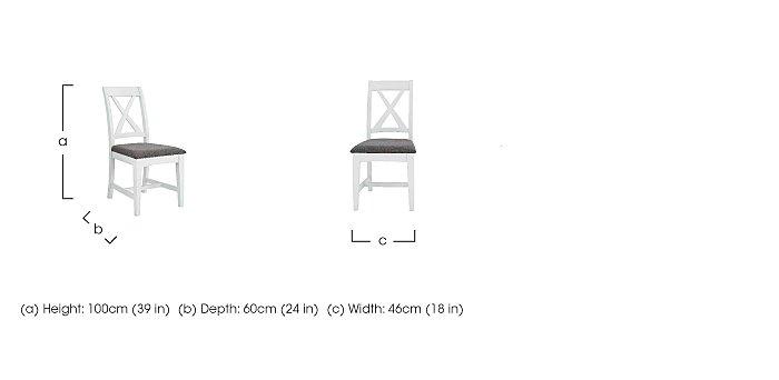 Parquet Dining Chair in  on Furniture Village