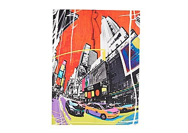 New York Pop Art Picture in  on Furniture Village