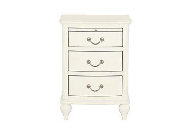 Penelope 3 Drawer Nightstand in  on Furniture Village