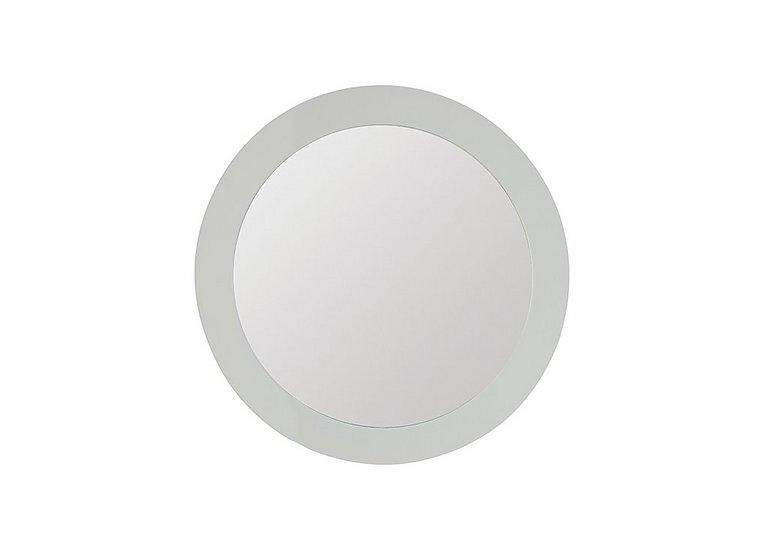 Polar Round Mirror in  on Furniture Village