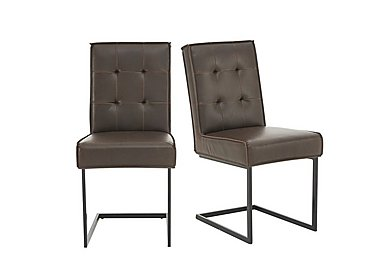 Portland Pair of Club Cantilever Chairs in  on Furniture Village