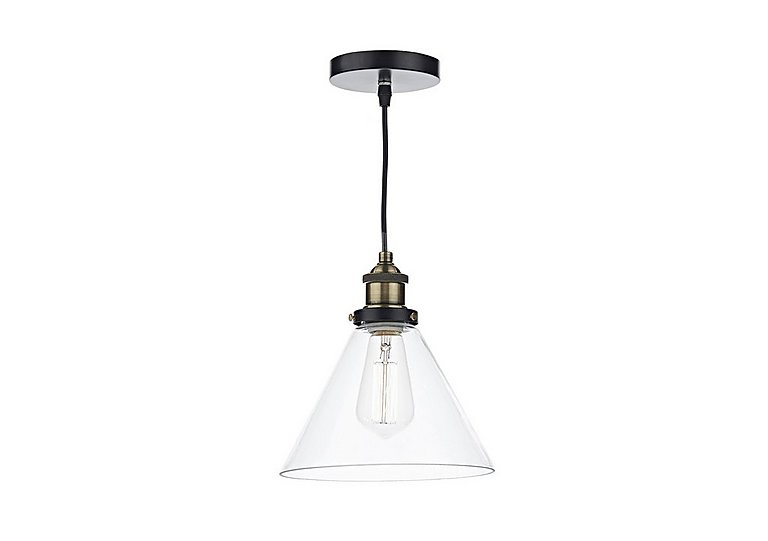 Ray 1 Light Pendant in  on Furniture Village